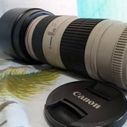 Lente Canon 70-200mm F4 Série L-USM