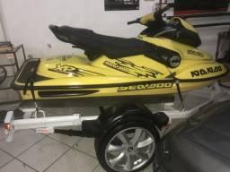 Jet ski seadoo xp 800cc/110 hp ( troco por carro ou moto) - 1997