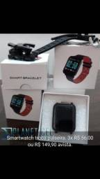 Smartwatch troca pulseira