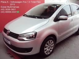 Volkswagen Fox G2 1.0 Flex - Completo - Placa A - 2013