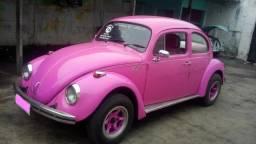 Volkswagen - Fusca Rosa - Ano 1974 - Filé!