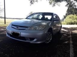 Vendo Honda civic Ex 2005 Prata Economico !!! Impecavel - 2005 - 2005
