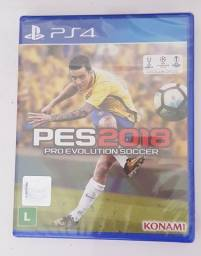 Jogo para PS4- PES 2018 (Lacrado)