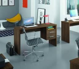 Mesa Escrivaninha office PRO Irlanda 02 gavetas = Entrega grátis!!!