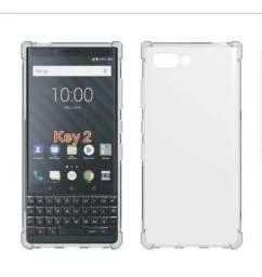 Promoção Capa Case Silicone para Blackberry Key2