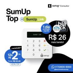 Maquininha de Cartão SumUp com Taxa 0% e Entrega Grátis