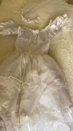 Vestido noiva caipira