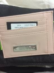 Porta cartão Santa Lolla, nova, com etiqueta