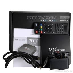 Produto que permite acessar internet na Tv- MXq pro-(Loja Wiki)
