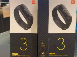 Relógio Smartwatch Pulseira Xiaomi Mi Band 3, Zero, Lacrado, Original