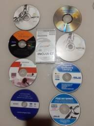 Cds e Dvds Driver de Instalação