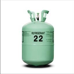 Gás r22 botija nova refrigeração