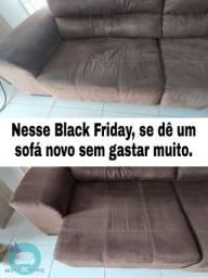 Nesse Black Friday, se dê um sofá novo sem gastar muito!