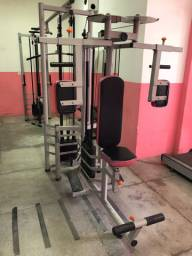 Academia completa-  máquinas fitness