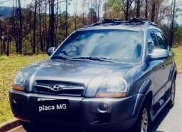 TUCSON FLEX 2.0 AUTOMÁTICA CINZA MODELO TOP GP45N COMPLETA!!! Baixo KM - Vários Acessórios