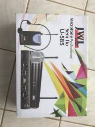 Microfone Sem Fio Profissionais JWL - Headset U-585HH