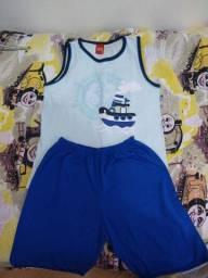 Pijama regata menino