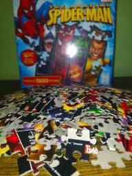 Quebra-Cabeça 500 peças - Marvel