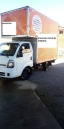 Kia bongo com enorme baú k-2500 2.5 diesel Ano 2015