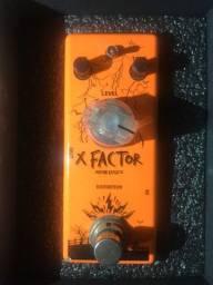 Pedal de ditorção guitarra Overtone X Factor