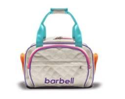 Bolsa Térmica Fitness Barbell Gym Mini, Bege: Nova! Original!