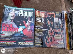 LOTE DE REVISTAS GUITAR PLAYER SÓ 250 REAIS