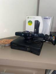 Xbox 360 desbloqueado com Kinect e 20 jogos