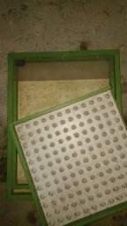 Semeadeira de mudas + plantadeira de mudas + bandejas de plantio
