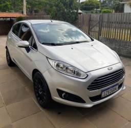 Ford New Fiesta Titanium 2017 Baixa KM Original