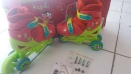 Patins Magali Infantil (Com Caixa e Manual)