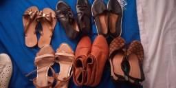 Vendo esses calçados usados