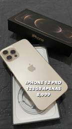 IPHONE 12 PRO 128 GB NOVO AZUL OU GOLD