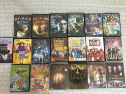 Dvds originais (Harry potter + Nárnia +crepúsculo )