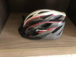 Capacete Ciclismo MTB seminovo