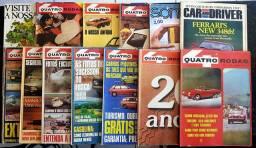 Raras revistas 4 Rodas e mais