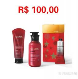 Kit Presente Natal Nativa Spa Ameixa