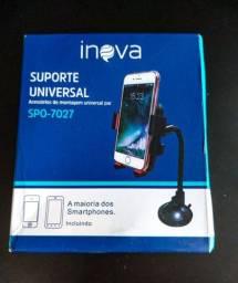 Suporte Veicular Gps Carro Smartphone Universal Flex