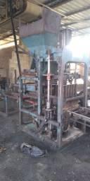 Máquina de blocos tprex 4 blocos hidráulica