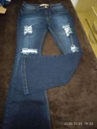 Calsa jeans feminina