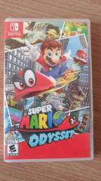 Super Mario Odyssey Switch mídia física