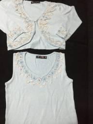 Conjunto de trico TAM P