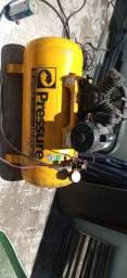 Compressor pressure 10 pés 100 litros