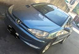Peugeot 206 1.4 FLEX completo