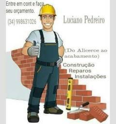 Pedreiro telhados reformas e construções