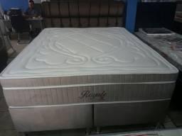:: Promoçao Cama Box + Colchao Montreal Royale Queen Size 158x198 Confira