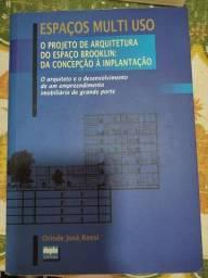Título do anúncio: Livro espaços multi uso  _ O projeto de arquitetura