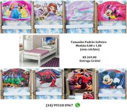 Título do anúncio: Cama Infantil Personalizada para Meninas e Meninos, Entrego
