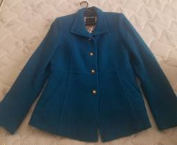 Casaco Lã Belfast Azul