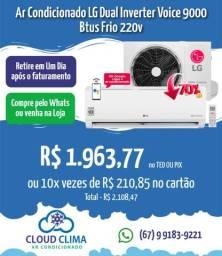 Título do anúncio: Ar Condicionado LG Dual Inverter Voice 9mil Btus
