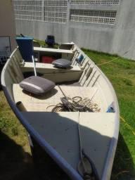 Título do anúncio: Vendo conjunto .. barco, motor, carretinha